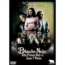 Blanche-Neige, le Prince Noir et les 7 nains