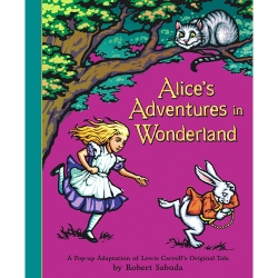 Alice in Wonderland pop up