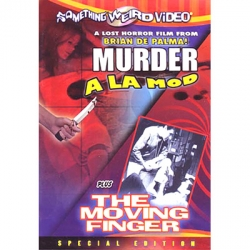 Murder a la mod / The moving finger