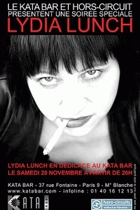 Lydia Lunch flyer